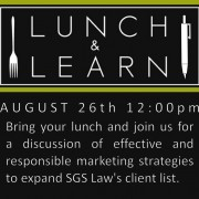 SGS Lunch and Learn Training